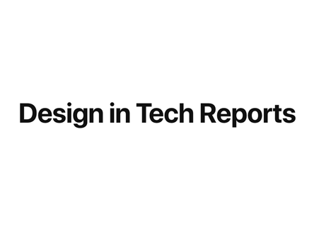 Design In Tech report 2017